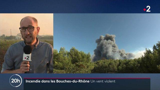 Incendies dans les Bouches-du-Rhône : 1 000 pompiers mobilisés