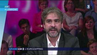 Deniz Yücel, journaliste germano-turc, arrêté en Turquie (France 3)