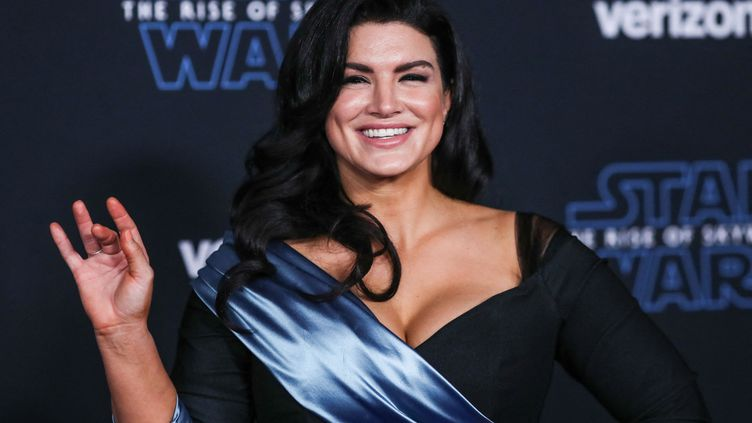 "Gina Carano à la première de ""Star Wars : l'Ascension de Skywalker"" en décembre 2019.  (IMAGE PRESS AGENCY / NURPHOTO)"