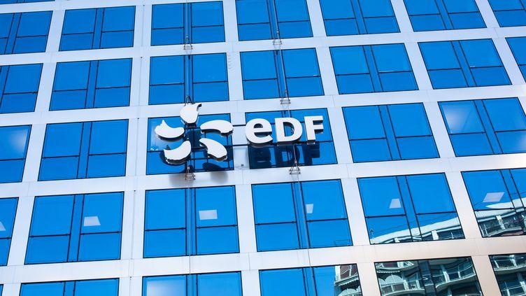 Le siège d'EDF à Paris, le 15 février 2019 (ALEXIS SCIARD  / MAXPPP)
