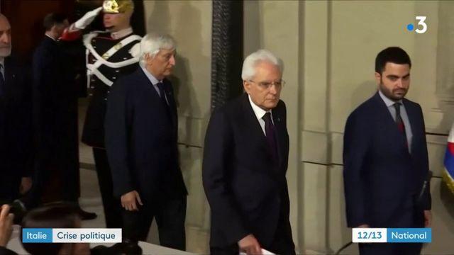 Italie : crise politique