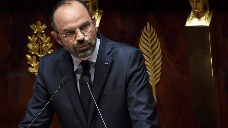 Le Premier ministre Edouard Philippe à l'Assemblée nationale, à Paris, le 12 juin 2019. (ALAIN JOCARD / AFP)
