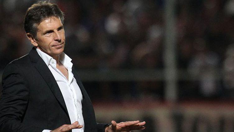 L'entraîneur de l'OGC Nice, Claude Puel
