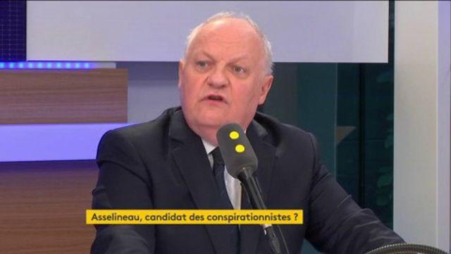"""Asselineau doute de """"l'affaire syrienne""""."""
