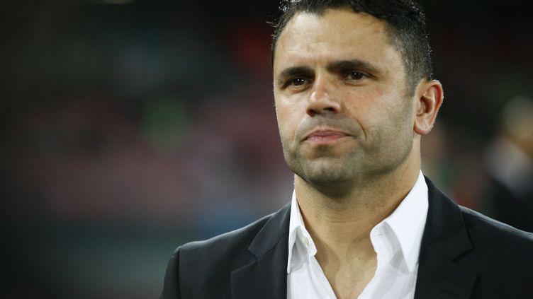 Uli Forte n'est plus l'entraîneur des Young Boys de Berne (CARLO HERMANN / AFP)