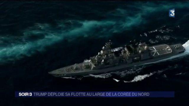 États-Unis : Donald Trump déploie sa flotte au large de la Corée du Nord