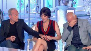 """Capture d'écran de l'émission """"Salut les Terriens"""", diffusée sur C8 samedi 23 septembre 2017. (C8)"""