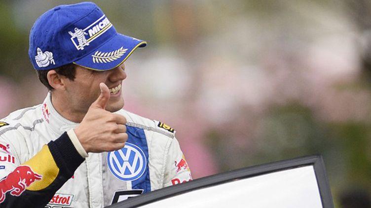 Sebastien Ogier (Volkswagen) (ANDREAS SOLARO / AFP)