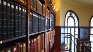 La bibliothèque Carnegie possède les plus anciens livres des bibliothèques de la ville de Reims. (R.Doumergue / France Télévisions)