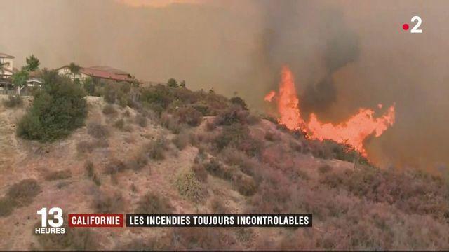 Californie : les incendies toujours incontrôlables