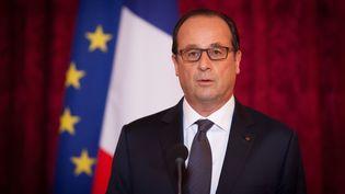 François Hollande, le 19 octobre 2014 à l'Elysée. (  MAXPPP)