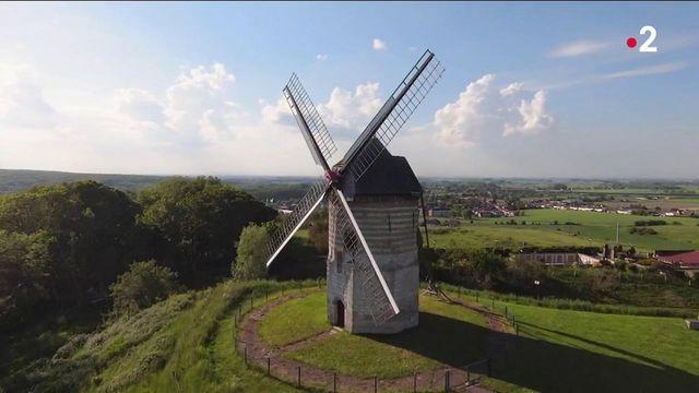 13h : Patrimoine : le moulin, l'emblème de la Flandre française
