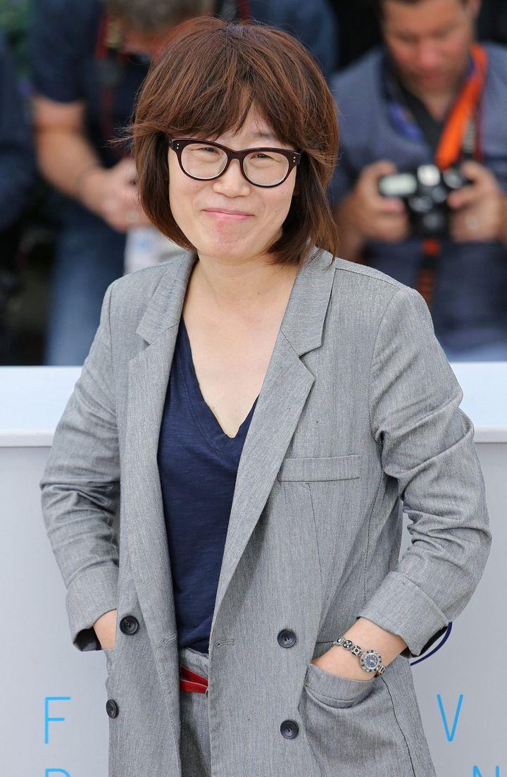La réalisatrice sud-Coréenne Shin Su-Won  (UPI/MAXPPP)