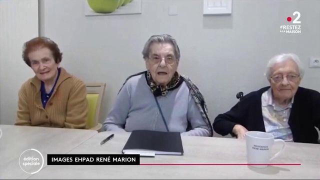 Isère : confinés, des résidents tournent... un journal télévisé