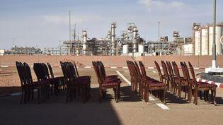 Complexe gazier d'In Amenas dans le sud-est algérien. L'Algérie se classe dans le top 10 des producteurs mondiaux de gaz et est le 3e producteur africain de pétrole. Photo prise le 16 juin 2018. (RYAD KRAMDI / AFP)