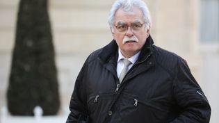 André Chassaigne,député PCF du Puy-de-Dôme, le 5 février 2019. (LUDOVIC MARIN / AFP)