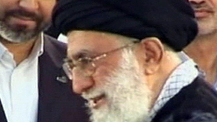 L'ayatollah Ali Khamenei, guide suprême de la révolution en Iran (juin 2009) (© France 2)