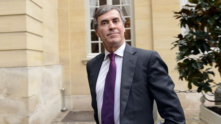 Le ministre délégué au Budget, Jérôme Cahuzac, à son arrivée à Matignon, le 4 janvier 2013. (BERTRAND GUAY / AFP)