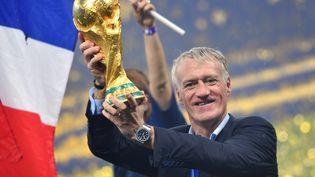 Le sélectionneur de l'équipe de France, Didier Deschamps, le 15 juillet 2018. (FRANK HOERMANN/SVEN SIMON / SVEN SIMON)