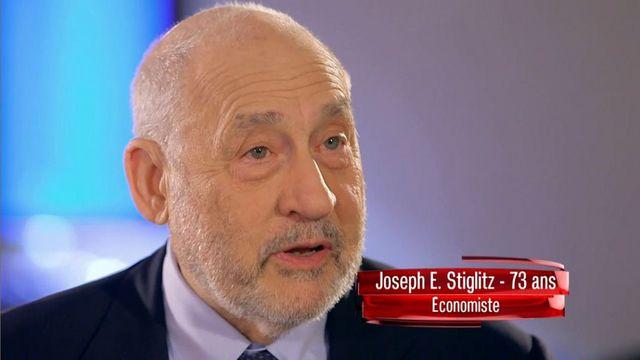 """Extrait de l'interview de Joseph Stiglitz pour """"L'Angle éco"""" mai 2016. Titre Joseph Stiglitz: """"La Troïka a fomenté une guerre entre jeunes et vieux"""""""