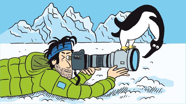 Vincent Munier raconte sa passion de la photo animalière. (FRANCEINFO / RADIOFRANCE)