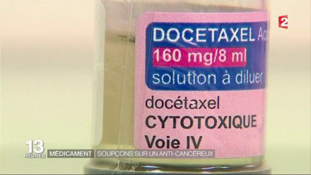 Médicaments : des soupçons sur un anti-cancéreux