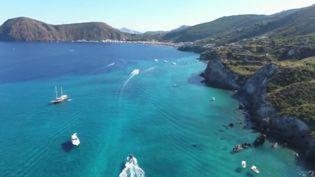 Les îles Éoliennes en Italie (CAPTURE D'ÉCRAN FRANCE 2)