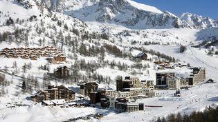 Vue de la station Isola 2000 (Alpes-Maritimes), le 23 septembre 2011. (ROBERT PALOMBA / ONLY FRANCE  / AFP)