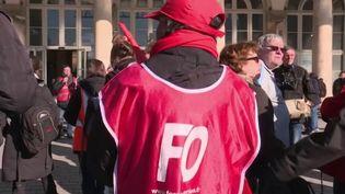 Réforme des retraites : les irréductibles entament leur neuvième mobilisation nationale (FRANCE 3)