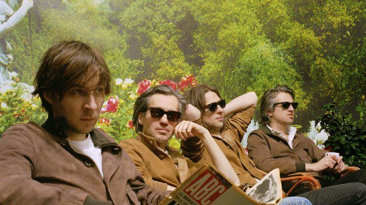 """Le groupe Phoenix s'est inspiré de la musique italienne pour leur sixième album, """"Ti Amo"""". (Emma Le Doyen / Art Direction Studio Mitsu Press)"""