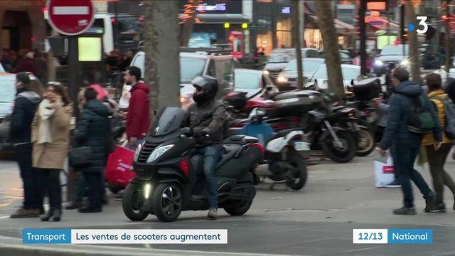 Transport : les ventes de scooters augmentent