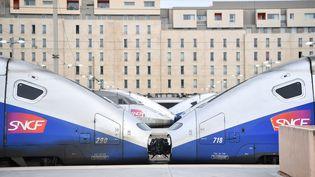 La gare Saint-Charles à Marseille (Bouches-du-Rhône), le 3 avril 2018. (BERTRAND LANGLOIS / AFP)