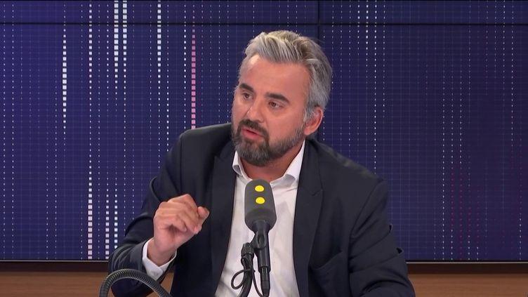 Alexis Corbière, député LFI de Seine-Saint-Denis, mardi 30 juillet sur franceinfo. (CAPTURE D'ECRAN/ FRANCEINFO/ RADIO FRANCE)