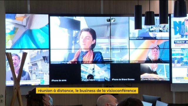 Télétravail : la visioconférence en plein boom