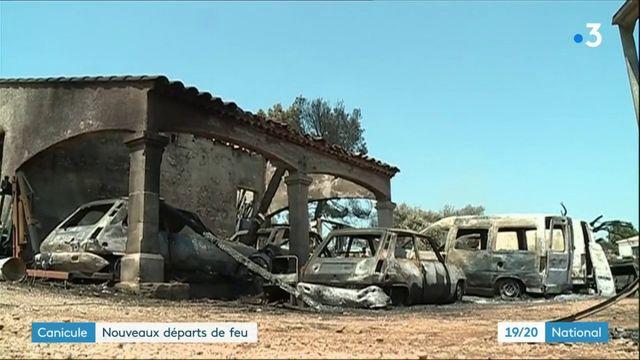 Canicule : une soixantaine de feux dans le Gard