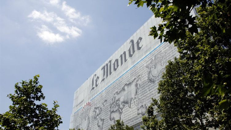L'immeuble du Monde (AFP - Thomas SAMSON)