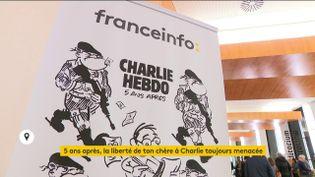 """Une soirée avec l'équipe de """"Charlie Hebdo"""" organisée par franceinfo (FRANCEINFO)"""