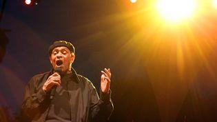 Al Jareau lors du festival de jazz à Nice (Alpes-Maritimes), le 19 juillet 2010. (VALERY HACHE / AFP)