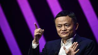 Jack Ma, le patron d'Alibaba a disparu depuis octobre 2020. (PHILIPPE LOPEZ / AFP)