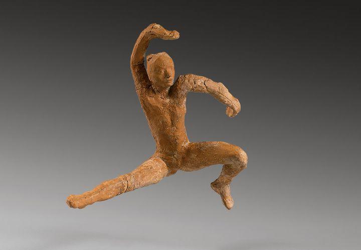 """Auguste Rodin, """"Mouvement de danse F, avec Tête de la femme slave""""  (agence photographique du musée Rodin, ph. J. Manoukian)"""