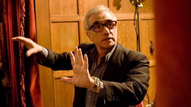 """Martin Scorsese sur le tournage de """"Shutter Island"""" en 2010  (ARCHIVES DU 7EME ART / PHOTO12)"""