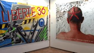 """Exposition """"36/36 les artistes fêtent les 80 ans des congés payés"""" à la chapelle des Pénitents bleus de La Ciotat jusqu'au 4 septembre 2016  (France 3 / Culturebox)"""