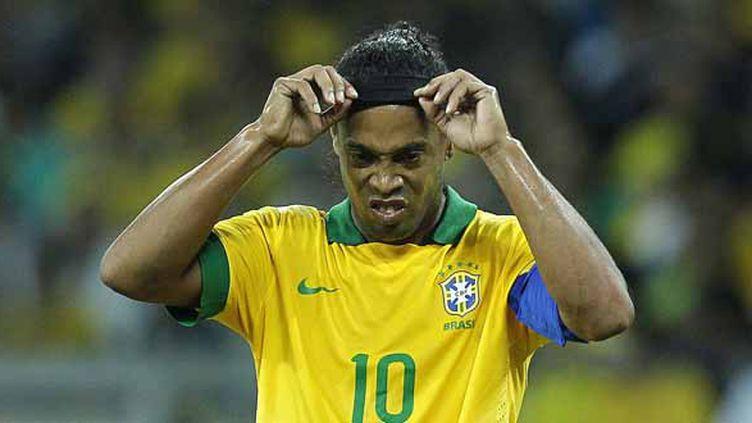 Ronaldinho.  (WAGNER MEIER / AGIF)