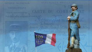Illustration pour la commémoration du 100e anniversaire de l'armistice (PATRICK LEFEVRE / BELGA MAG)