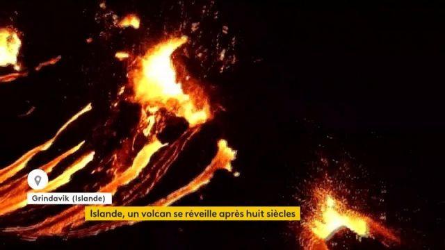 Islande : un volcan en éruption après 800 ans d'inactivité