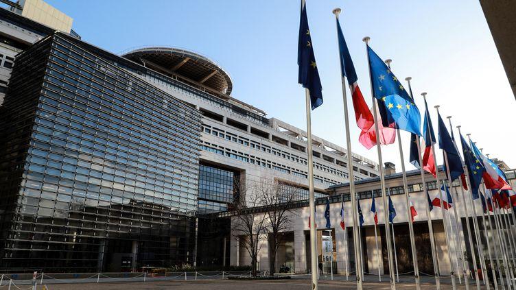 Le ministère de l'Economie et des Finances, le 17 février 2020 à Paris. (LUDOVIC MARIN / AFP)