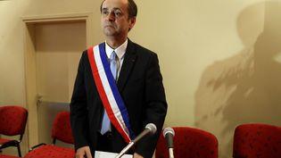 Robert Menard, élu maire de Béziers. le 4 avril 2014 (ALAIN ROBERT / APERCU / SIPA)