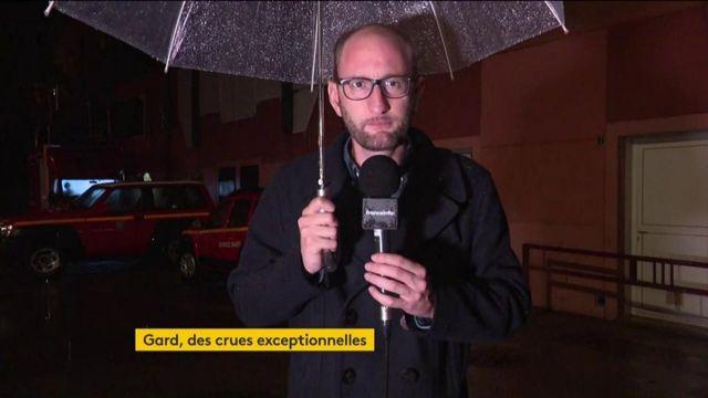 Gard : une nuit pluvieuse, les pompiers sur le qui-vive
