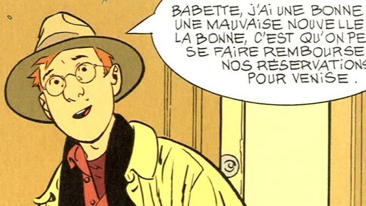 """Extrait de """"Le couteau dans l'arbre""""  (Alain Dodier /Editions Dupuis )"""