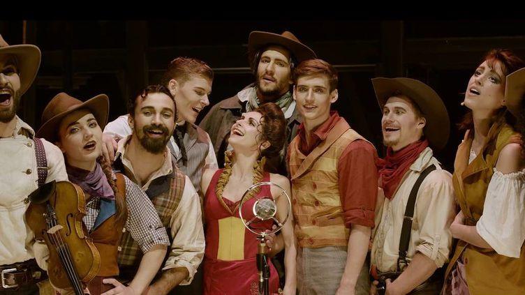 """Les personnages de """"Saloon"""" du Cirque Eloize  (CIRQUE ELOIZE)"""